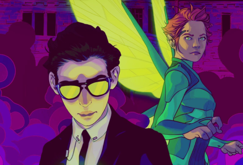 artemis fowl II and captain holly short