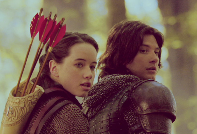 prince caspian X and susan pevensie