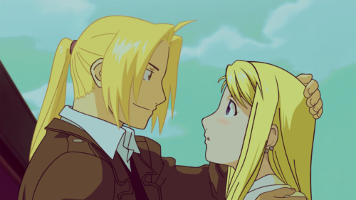 edward elric & winry rockbell